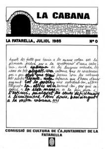 La Cabana 0 - Juliol de 1985