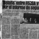 article El Periódico 1-oct-1982 Informe Bremen
