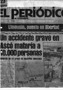 El Periódico, 23-8-82 (portada)