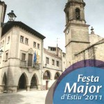 Portada del programa de Festes Majors d'Estiu de 2011