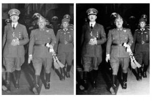 Franco i Hitler a Hendaya el 23 d'octubre de 1940