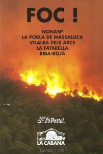 Portada revista Foc gener 1995