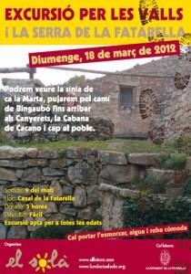 Excursió Valls i Serra de la Fatarella