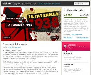Verkami La Fatarella 1938