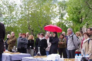 Berenar ofert per l'Alcalde de Batet