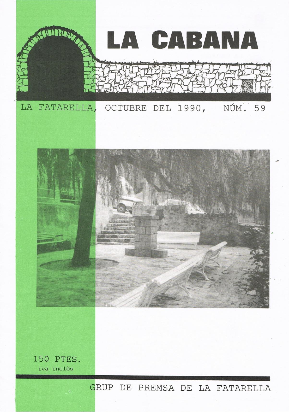 Revista local La Cabana núm. 59 – Octubre del 1990. Arxiu pdf