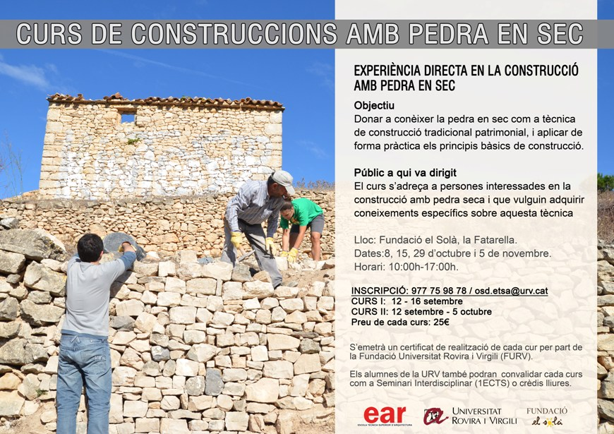 Cartell Curs de Construcció amb pedra en sec_2 copy